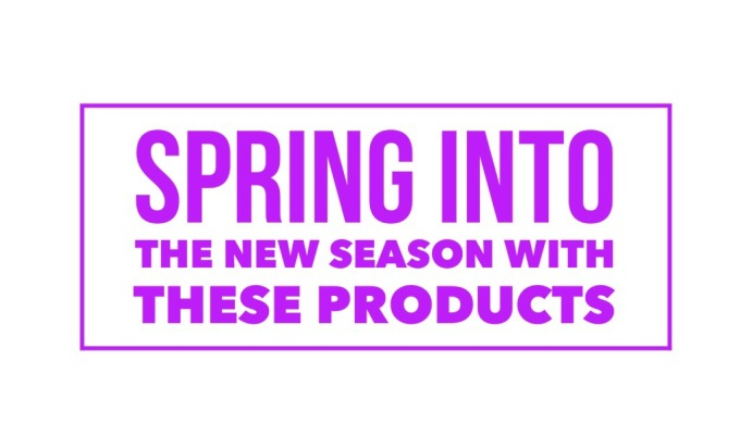 Spring into the new season with theseproducts