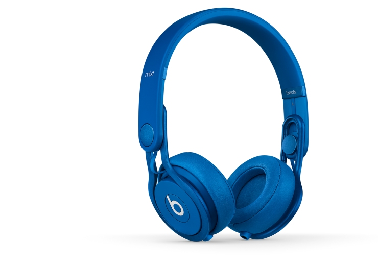 505704 Beats by Dr. Dre Mixr On-Ear Headphones Blue £169 copy