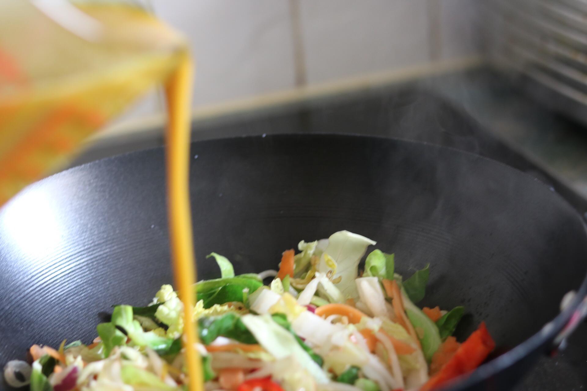 Curryoncooking With Goldfish Sauces Binnys Kitchen